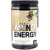 Optimum Nutrition, Essential Amin.O. Energy, Iced Cafe Vanilla Flavor, 10.6 oz (300 g)