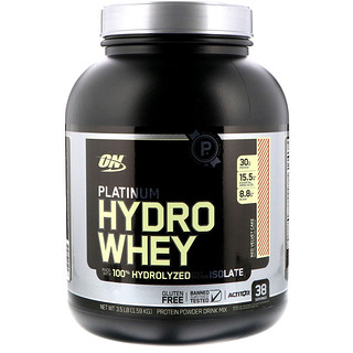 Optimum Nutrition, Platinum Hydro Whey, Red Velvet Cake, 3.5 lbs (1.59 kg)