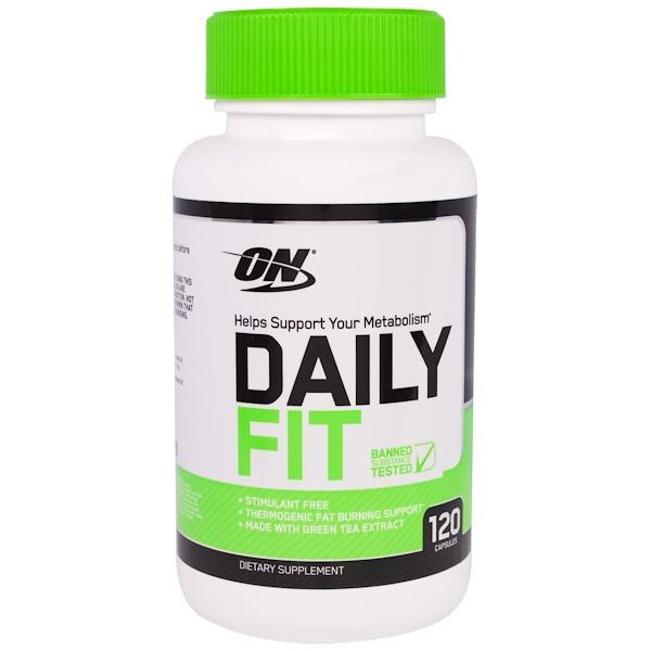 Optimum Nutrition, Daily Fit, 120 Capsules (Discontinued Item)
