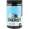 Optimum Nutrition, ESSENTIAL AMIN.O. ENERGY, Cotton Candy, 9.5 oz (270 g)