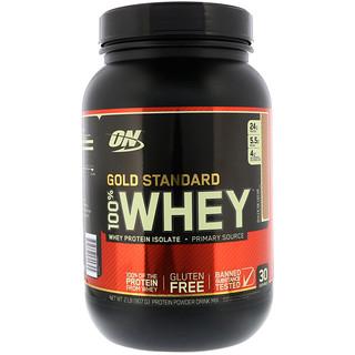 Optimum Nutrition, Gold Standard, 100% Whey, Dulce De Leche, 2 lbs (907 g)
