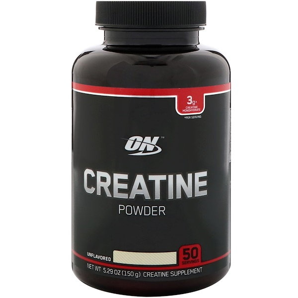 Optimum Nutrition, Creatine Powder, Unflavored, 5.29 oz (150 g)