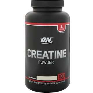Optimum Nutrition, Creatine Powder, Unflavored, 10.6 oz (300 g)