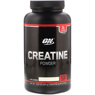 Optimum Nutrition, Creatine Powder, Unflavored, 10.6 oz (300 g)