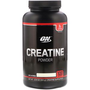 Оптимум Нутришэн, Creatine Powder, Unflavored, 10.6 oz (300 g) отзывы