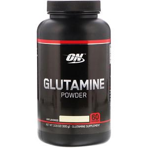 Оптимум Нутришэн, Glutamine Powder, Unflavored, 10.6 oz (300 g) отзывы покупателей