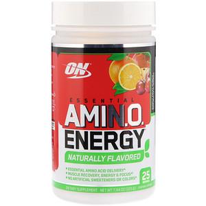Оптимум Нутришэн, Essential Amino Energy, Simply Fruit Punch, 7.94 oz (225 g) отзывы