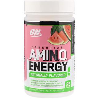 Optimum Nutrition, Essential AmiN.O. Energy, Simply Watermelon, 7.94 oz (225 g)