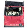 Optimum Nutrition, Золотой стандарт, 100% сыворотка, двойной шоколад, 7,64 ф (3,47 кг)