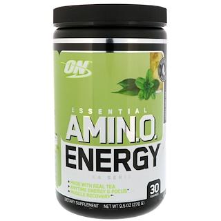 Optimum Nutrition, エッセンシャルアミノエナジー、スウィートミントティー、9.5 oz (270 g)