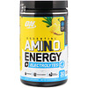 Optimum Nutrition, Essential Amino Energy + Eletrólitos, Toque de Abacaxi, 10,05 oz (285 g)
