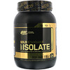 Optimum Nutrition, Gold Standard 100% Isolate, Rich Vanilla, 1.58 lb (720 g)