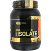 Optimum Nutrition, Gold Standard 100% Isolate, Strawberry Cream, 1.58 lb (720 g)