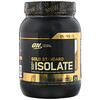 Optimum Nutrition, Gold Standard, 100% Isolate, Slow Churned Caramel Ice Cream, 1.58 lb (720 g)