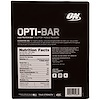 Optimum Nutrition, Opti-Bar High Protein Bar, Chocolate Brownie, 12 Bars, 2.1 oz (60 g) Each
