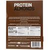 Optimum Nutrition, миндаль в протеиновой оболочке, темный шоколад и трюфель, 12пакетов по 43г (1,5унции)