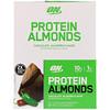 Optimum Nutrition, プロテインアーモンド、チョコレートハラペーニョ、12袋、1.5 oz (43 g) Each