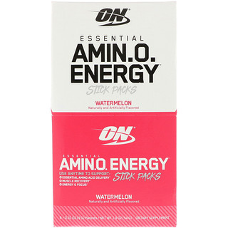 Optimum Nutrition, Essential Amino Energy, Watermelon, 6 Stick Packs, 0.31 oz (9 g) Each