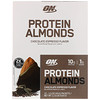 Optimum Nutrition, プロテイン アーモンド、チョコレート エスプレッソ、12パック、各1.5 oz (43 g)