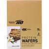 Optimum Nutrition, Protein Wafers, Vanilla Creme, 9 Packs, 1.42 oz (40 g) Each