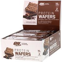 Протеиновые вафли, шоколадный крем, 9 упаковок, по 1,48 унции (42 г) каждая - фото