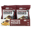 Optimum Nutrition, Protein Ridges, BBQ, 10 Bags, 1.38 oz (39 g) Each