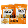 Optimum Nutrition, Protein Ridges, Cheese, 10 Bags, 1.38 oz (39 g) Each