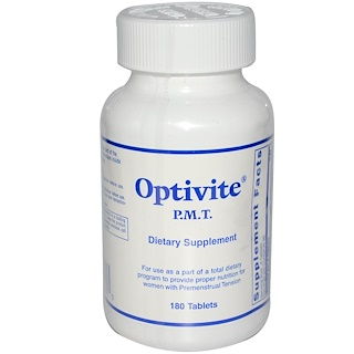 Optimox Corporation, Optivite, P.M.T., 180 Tablets