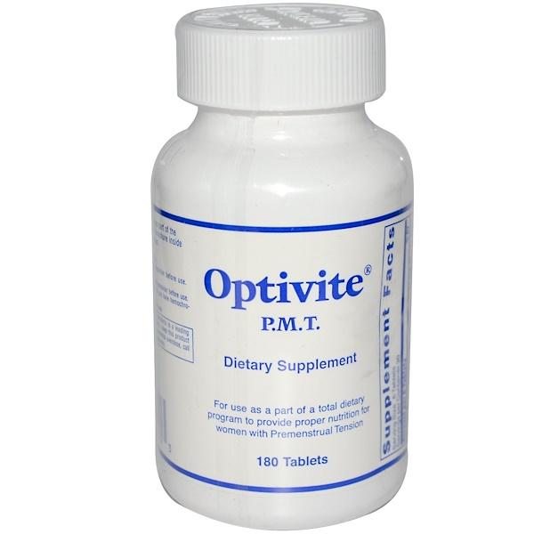 Optivite, P.M.T., 180 Tablets