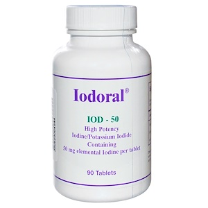Оптимокс Корпоратион, Iodoral, 50 mg, 90 Tablets отзывы