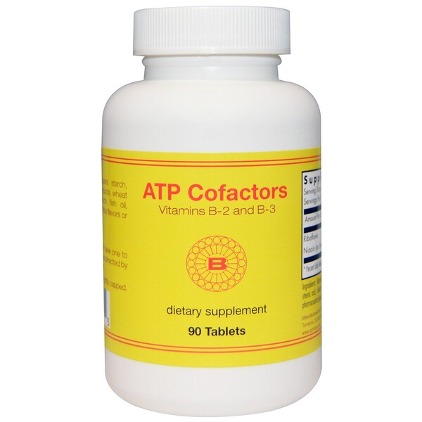 Optimox, ATP Cofactors, 90 Tablets