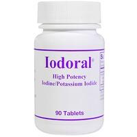 Йодорал, йод/калиевый йод, 90 таблеток - фото