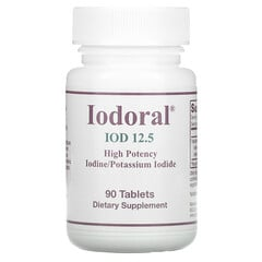 Optimox, Iodoral,碘/碘化鉀,90 片