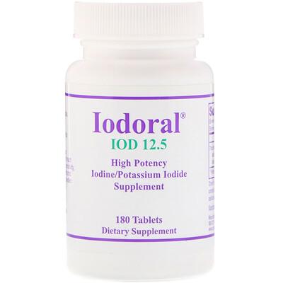 Optimox Иодорал, 180 таблеток