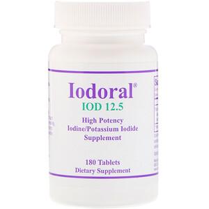 Оптимокс Корпоратион, Iodoral, High Potency, 180 Tablets отзывы