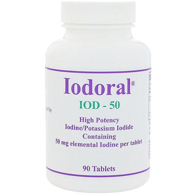 Optimox Йодорал, 50 мг, 90 таблеток