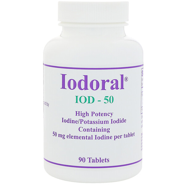 Iodoral, 50 mg, 90 Tablets