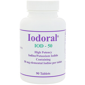 Оптимокс Корпоратион, Iodoral, 50 mg, 90 Tablets отзывы покупателей