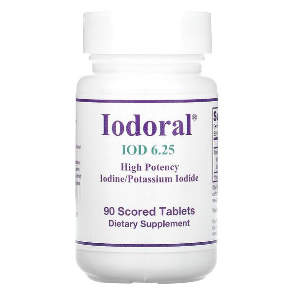 Iodoral, IOD 6.25, 90 Tablets