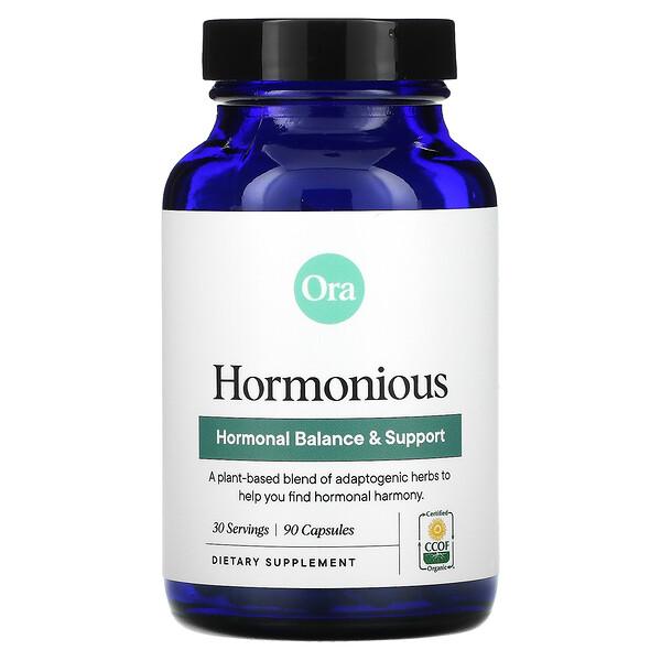 Hormonious, Hormonal Balance & Support, 90 Capsules