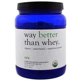Ora, Way Better Than Whey, Vanilla Chai, 19.8 oz (560 g)