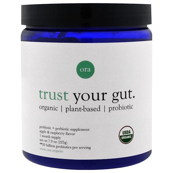 Ora, Trust Your Gut, Apple & Raspberry Flavor, 7.9 oz (225 g) (Discontinued Item)