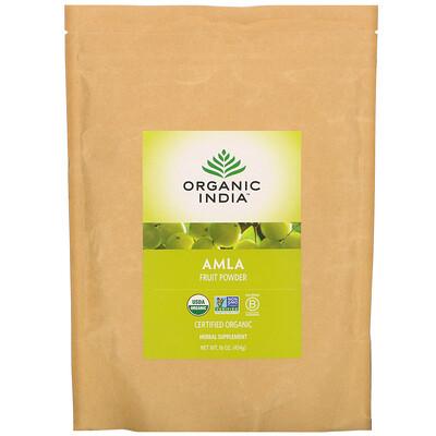 Купить Organic India Amla Fruit Powder, 16 oz (454 g)