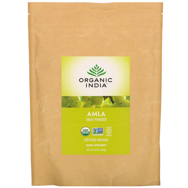 Organic India, Amla Fruit Powder, 16 oz (454 g)
