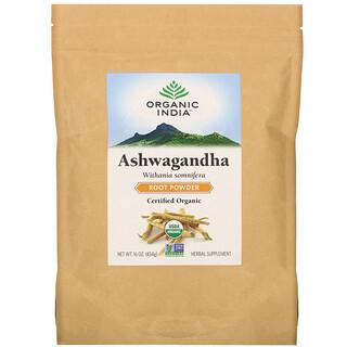 Organic India, Ashwagandha Root Powder, 16 oz (454 g)