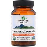 Отзывы о Organic India, Turmeric Formula, Joint Mobility & Support, 90 Veg Caps