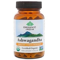 Organic India, Organic, Ashwagandha, 90 Veg Caps
