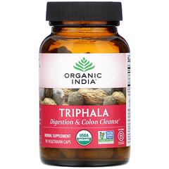 Organic India, 三果寶,90 粒素食膠囊