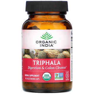 Organic India, Triphala, 90 Vegetarian Caps