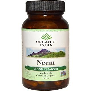 Organic India, Neem, Blood Cleanser, 90 Veggie Caps
